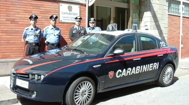 Alfa 159 carabinieri di Alassio