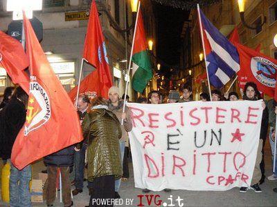 Manifestazione - Rifondazione comunista