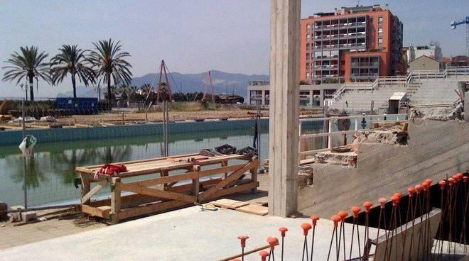 Savona il consigliere de cia saluta la nuova piscina - Piscina zanelli savona ...