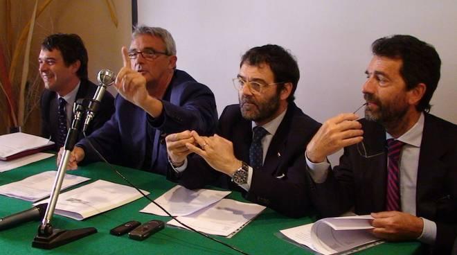 Savona - caos liste la conferenza stampa