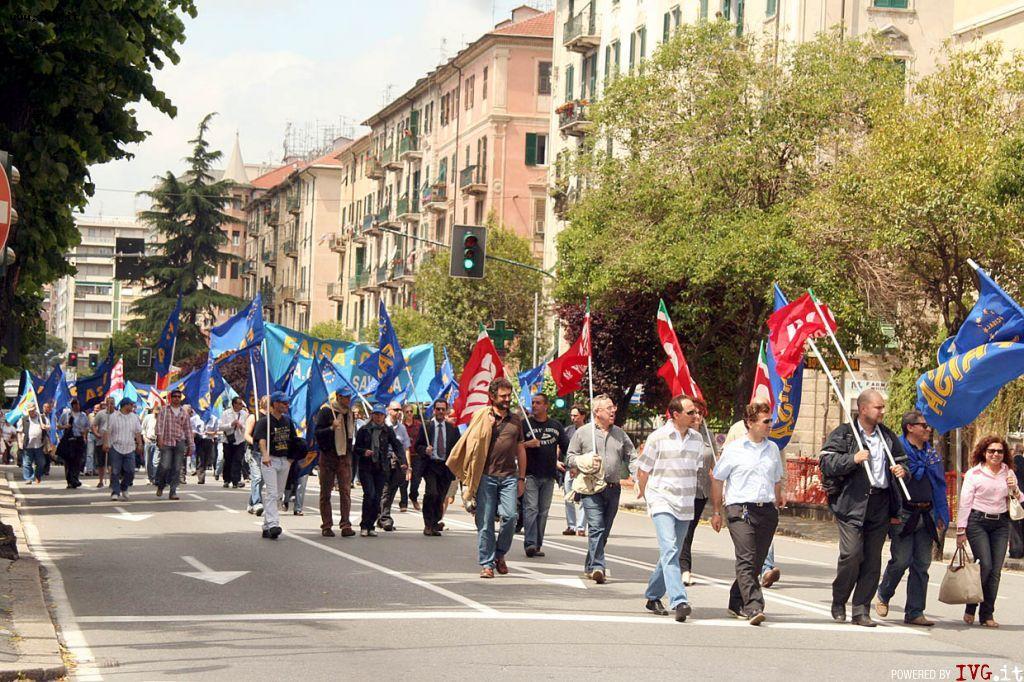Savona - sciopero Acts
