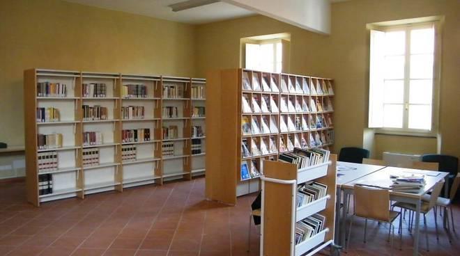 Palazzo Oddo - sala biblioteca