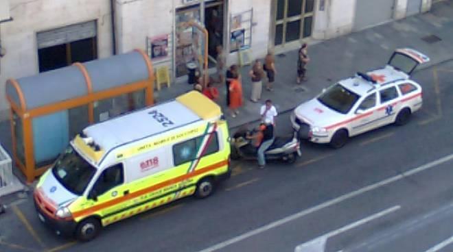 Ambulanza Croce Bianca con automedica Sierra 1