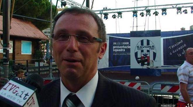 Andrea Pesce, presidente Savona Calcio