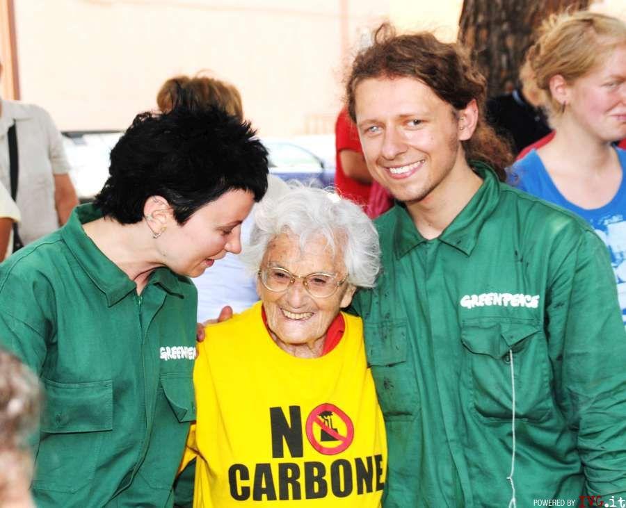 Janina Maciaszeek, Greenpeace a Vado Ligure
