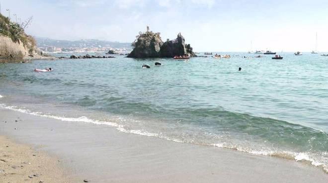Margonara, spiaggia Madonnetta, Savona