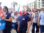 Protesta lavoratori Bombardier