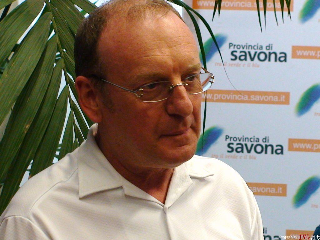 Silvano Montaldo - assessore Bilancio patrimonio e sistema informativo provincia di Savona