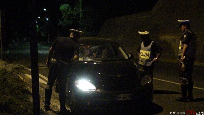 Stradale controlli notturni, contro le stragi del sabato sera