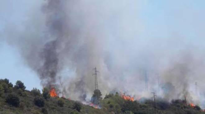 Camporosso - incendio
