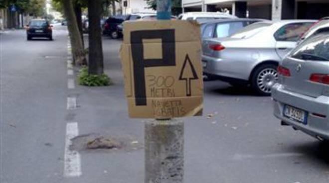 Cartelli parcheggio Albissola