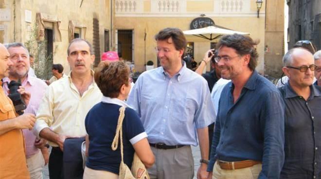 Franceschini, Miceli e Tabbò ad Albenga