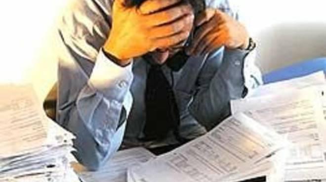 Impiegato stressato