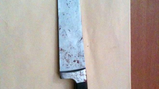 Omicidio di Osiglia: coltello