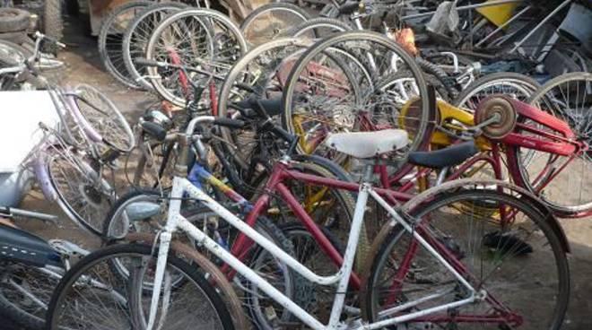 Biciclette sequestrate Albenga