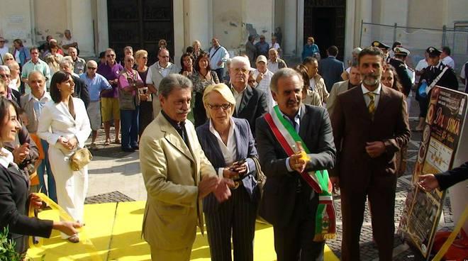 Inaugurazione Dolcissima pietra 2009