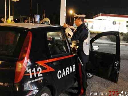 Carabinieri, posto blocco notte