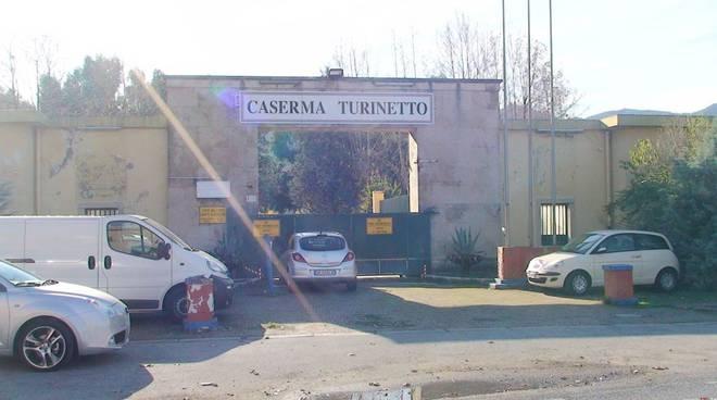 Albenga, caserma Turinetto