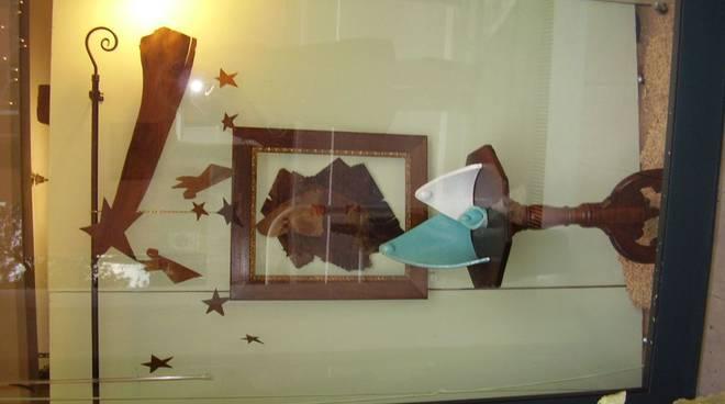 Albisola Superiore - vetrina natalizia