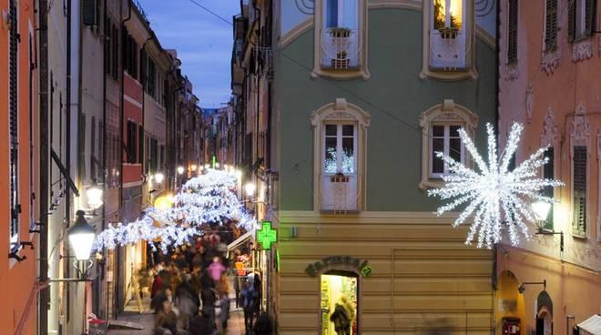 Loano - le mille luci delle feste natalizie