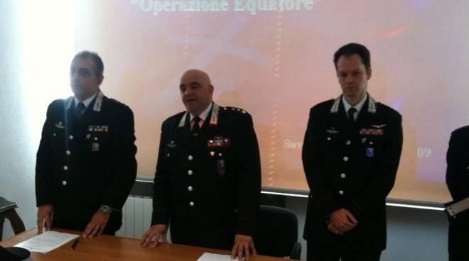 "Savona - conf.stampa operazione""Equatore"""