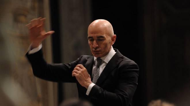 Savona-Filippo Maria Bressan -direttore dell'orchestra sinfonica savonese