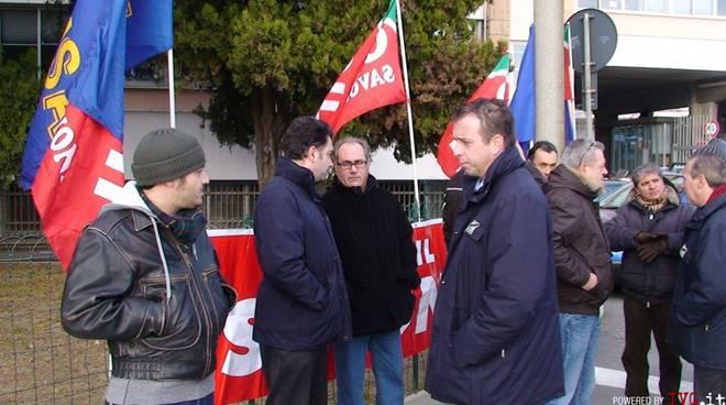 Savona - sciopero acts dicembre