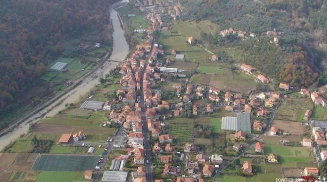 Villanova d'Albenga - veduta aerea