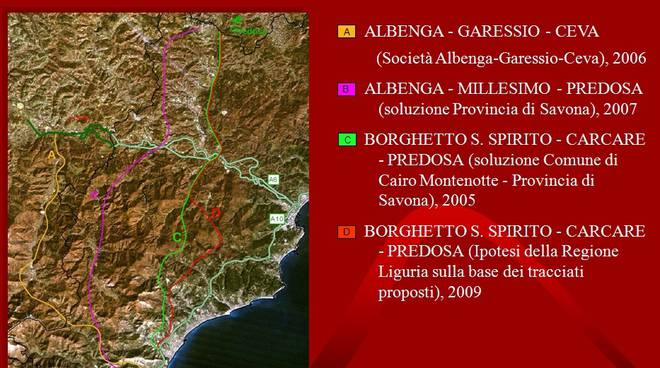 Albenga-Predosa autostrada