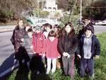 Boissano alunni scuola primaria alberi Natale