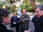 Boissano - visita Burlando