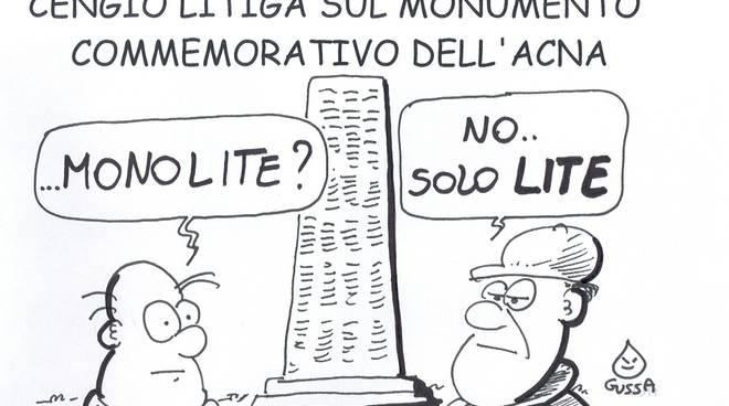 Cengio - monumento