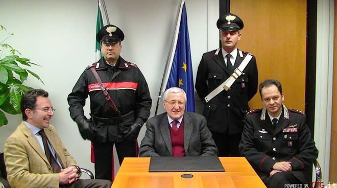 Conferenza stampa omicidio Borghetto