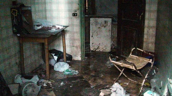 Finale Ligure - incendio abitazione Anita Gianelli