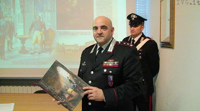 Giovanni Garau - comandante CC Savona