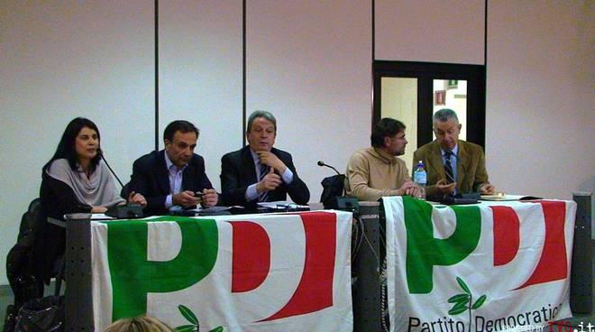 Incontro sala mostre provincia PD per Regionali