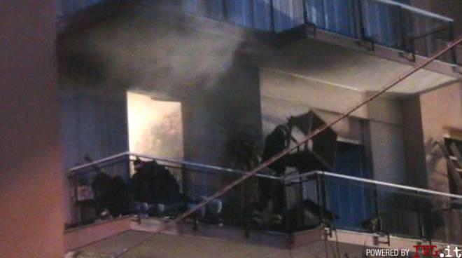 Loano - incendio mortale