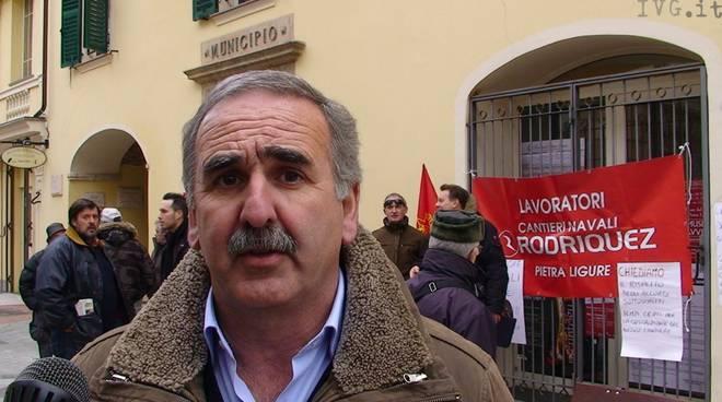 Luigi De Vincenzi - sindaco Pietra Ligure