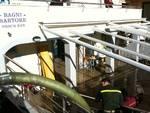 Pietra Ligure - mareggiata 1 gennaio, bagni sartore
