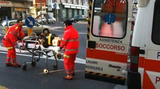 Pietra Ligure - scooter investe pedone