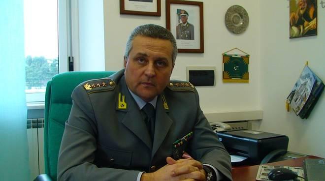 Roberto Visintin - comandante GdF Provincia