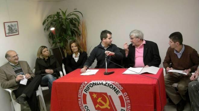 Savona - presentazione lista federazione per Burlando