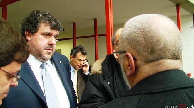 Savona - Vaccarezza e i suoi avvocati in tribunale