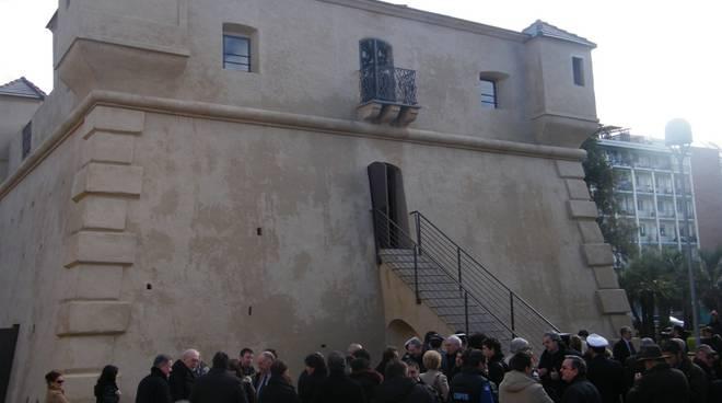 Albenga inaugurazione Fortino
