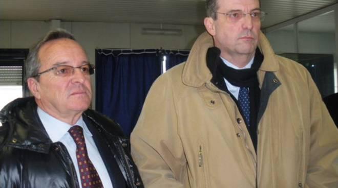 Carlo Tonarelli e Claudio Burlando