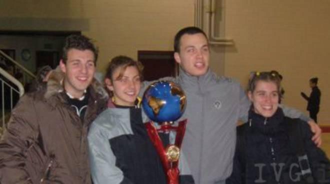 Mattia, Valentina, Fabio e Raffaella.