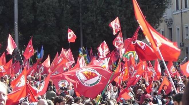 Manifestazione Prc, Pdci e Federazione della Sinistra