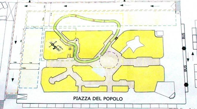 Savona - piazza del popolo