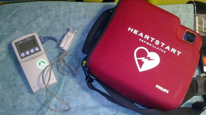 Soccorso defibrillatore DAE