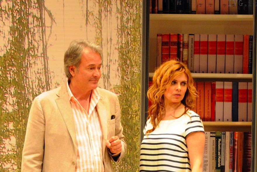 """Teatro Loano - Tedeschi e Caprioglio in """"Anatra all'arancia"""""""